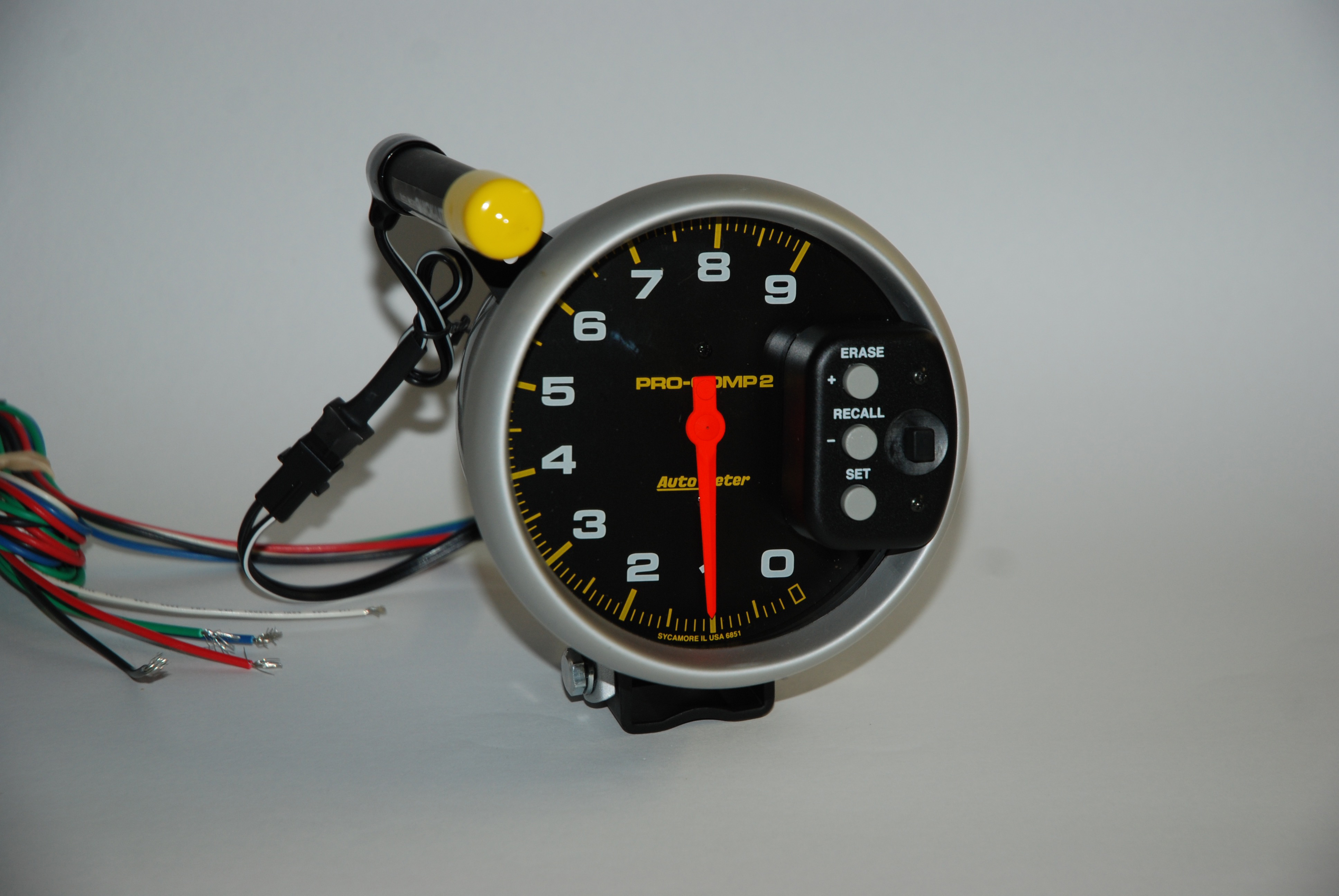 Auto Meter Motorcycle Tach Pro Wiring Best Books Resources Some Of Todays Tachs Incorporate The Two Stage Shift Light That Provides Different