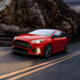 Ford's announcement will spell the end of its sport compact offerings, including the Focus RS pictured here. (Image/Ford.com)