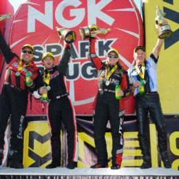 NHRA Wrap-Up: Torrence, Pedregon, Enders & Savoie Win Four-Wide Nats