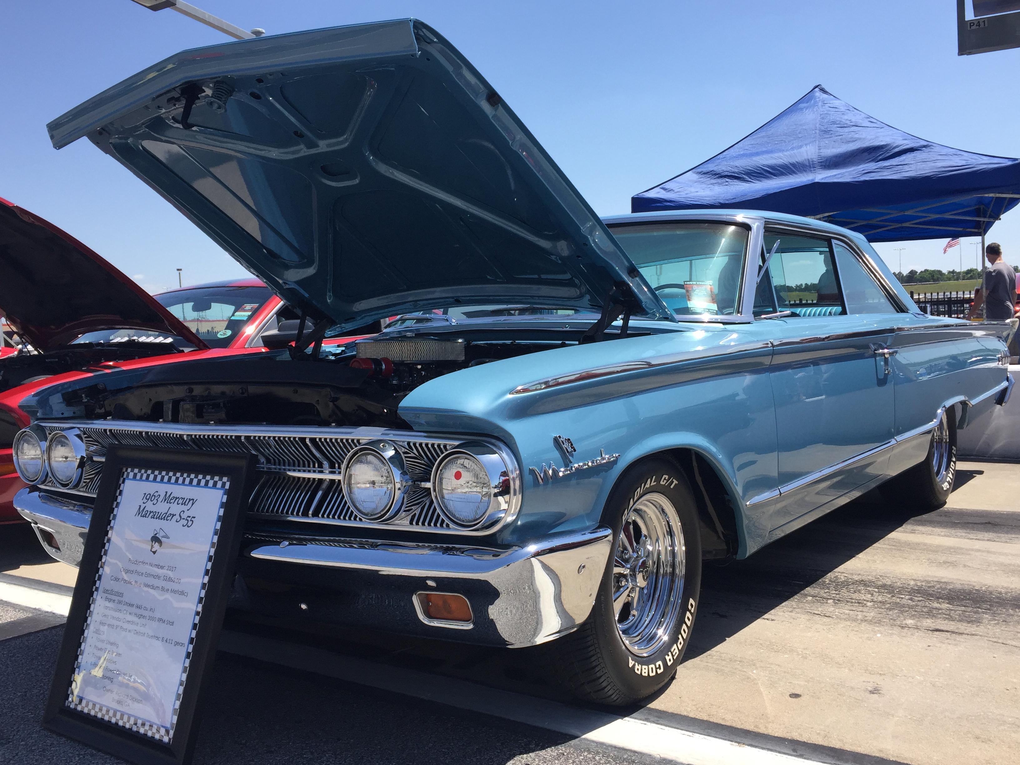 Motorama Mini Feature Rich Dicksons 1963 Mercury Marauder S 55