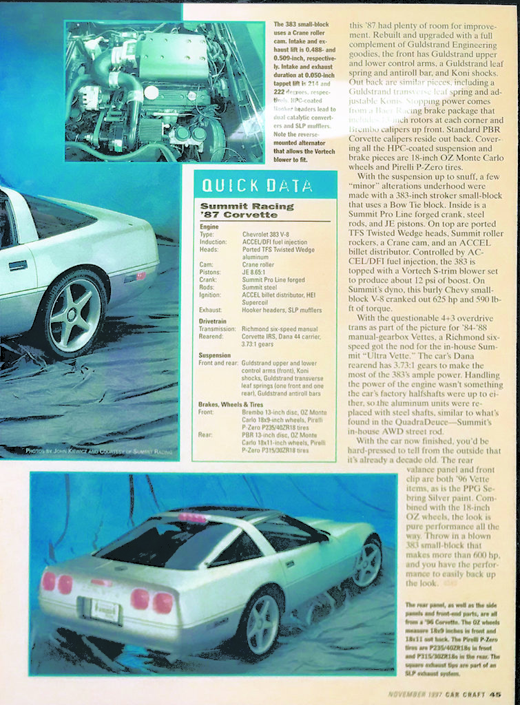 Corvette Summer Car Craft Article, Page 2