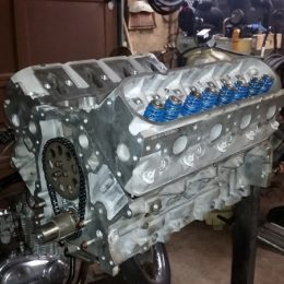 LM4 engine rebuild