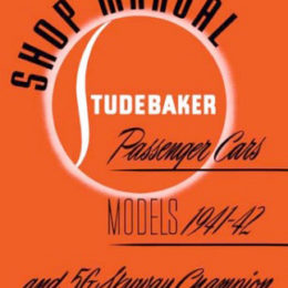 Need a manual for your 1941 'Stude Champion? Bishko's got it. (Image/Bishko)