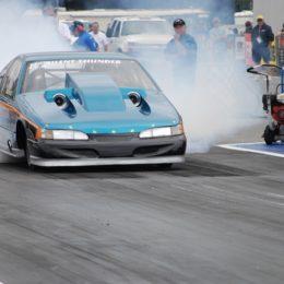 drag race burnout
