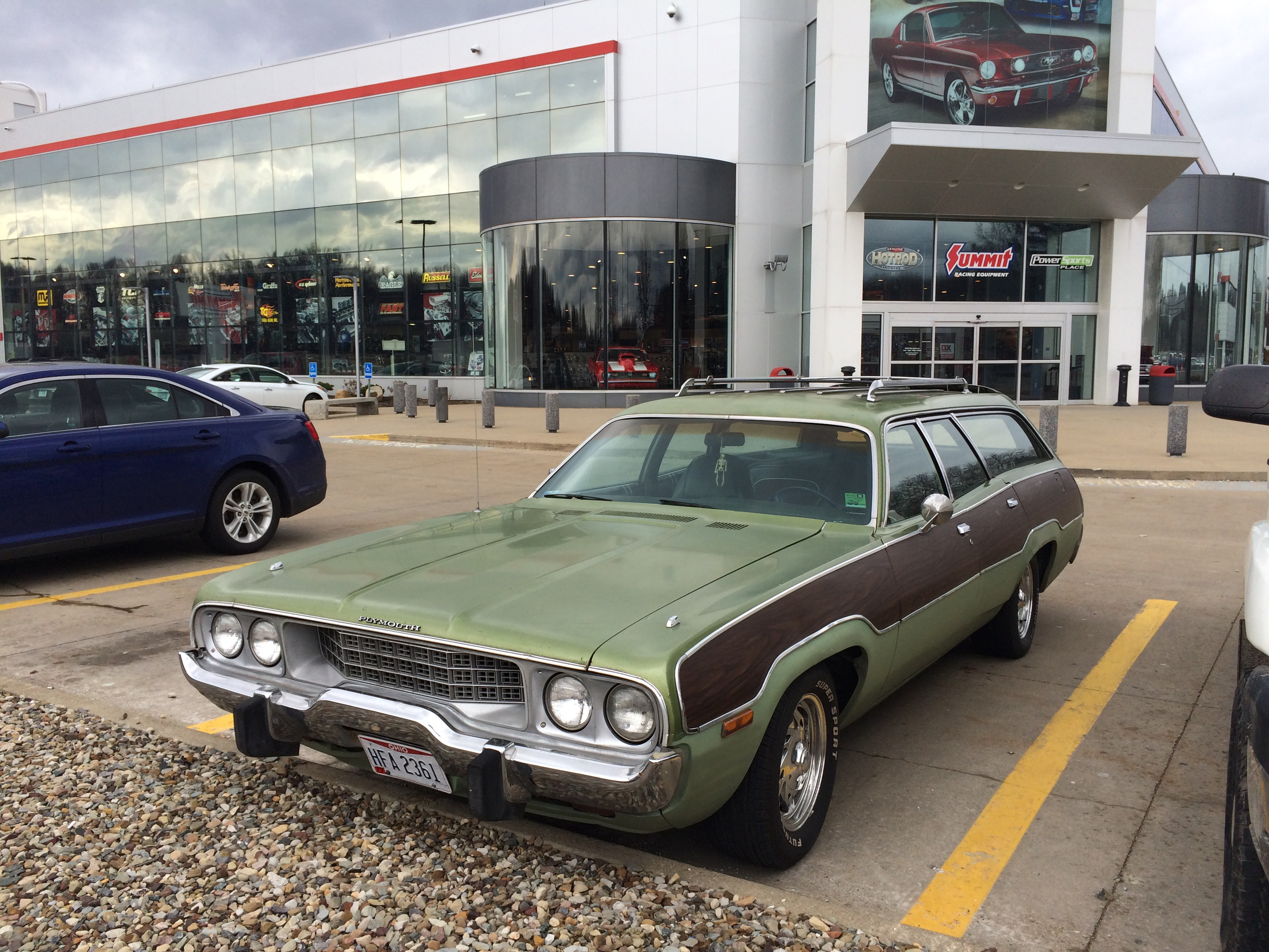 Lot Shots Find Of The Week 1973 Plymouth Satellite Wagon