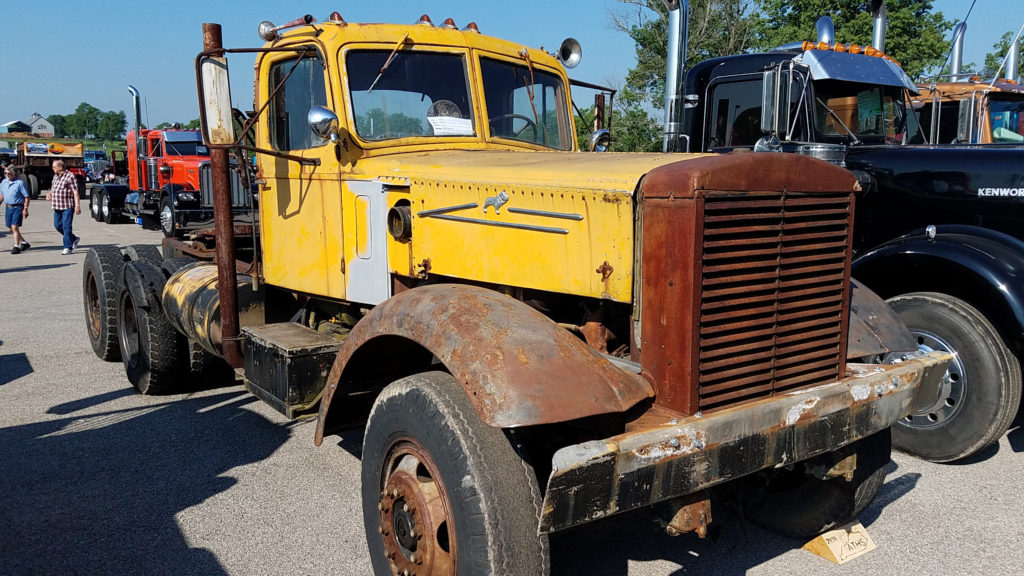 vintage-old-yellow-semi-truck