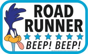 road runner mopar sign
