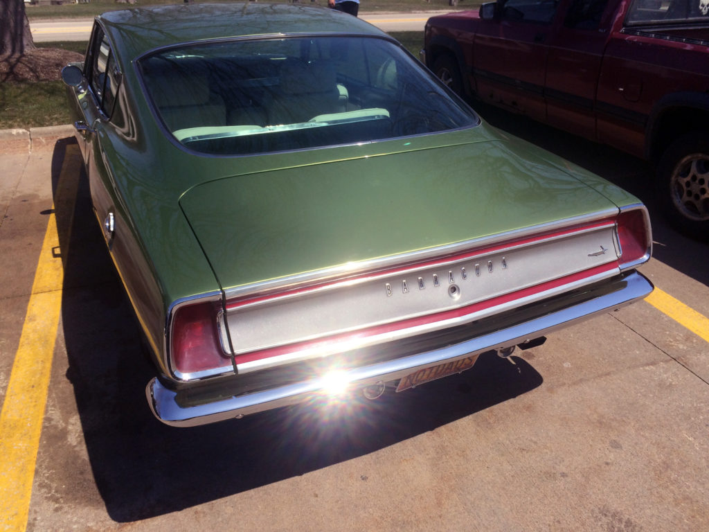1969-Barracuda-Rear