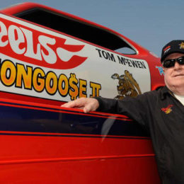 "Legendary NHRA Driver Tom ""The Mongoose"" McEwen Passes Away"