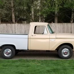 1966 Ford F-100 short bed pickup