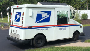 Grumman-LLV Postal Truck