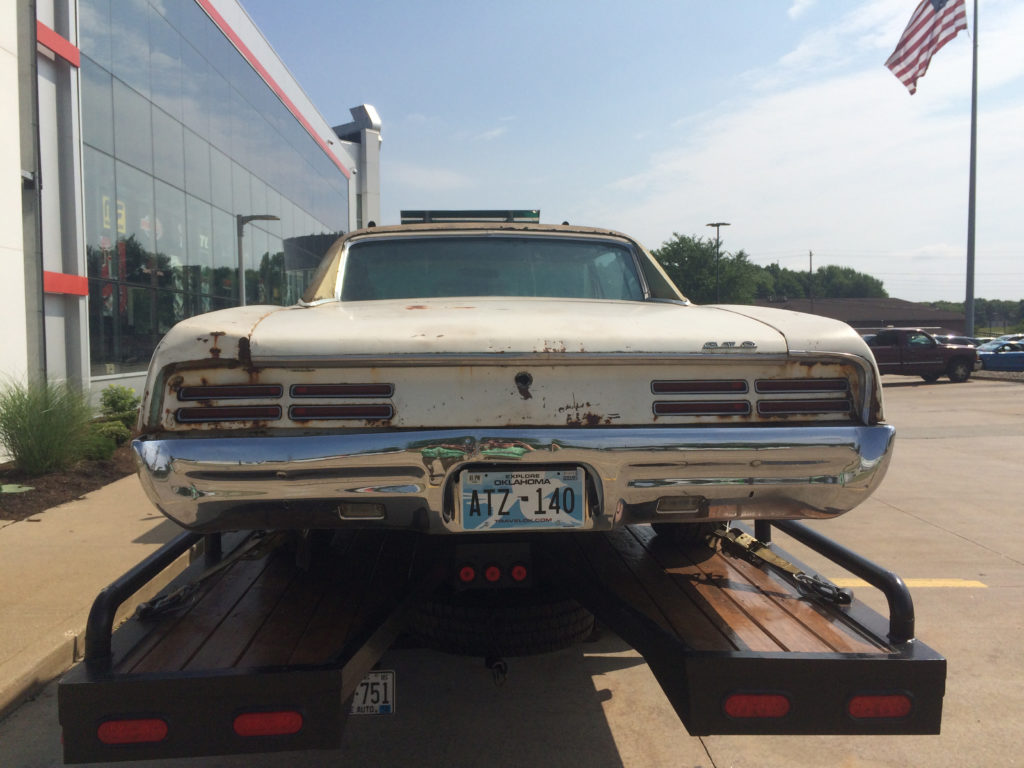 1967-Pontiac-GTO-on-Flatbed-Rear-Driver-Tail