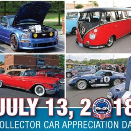 Event List by State for Car Collector Appreciation Day 2018