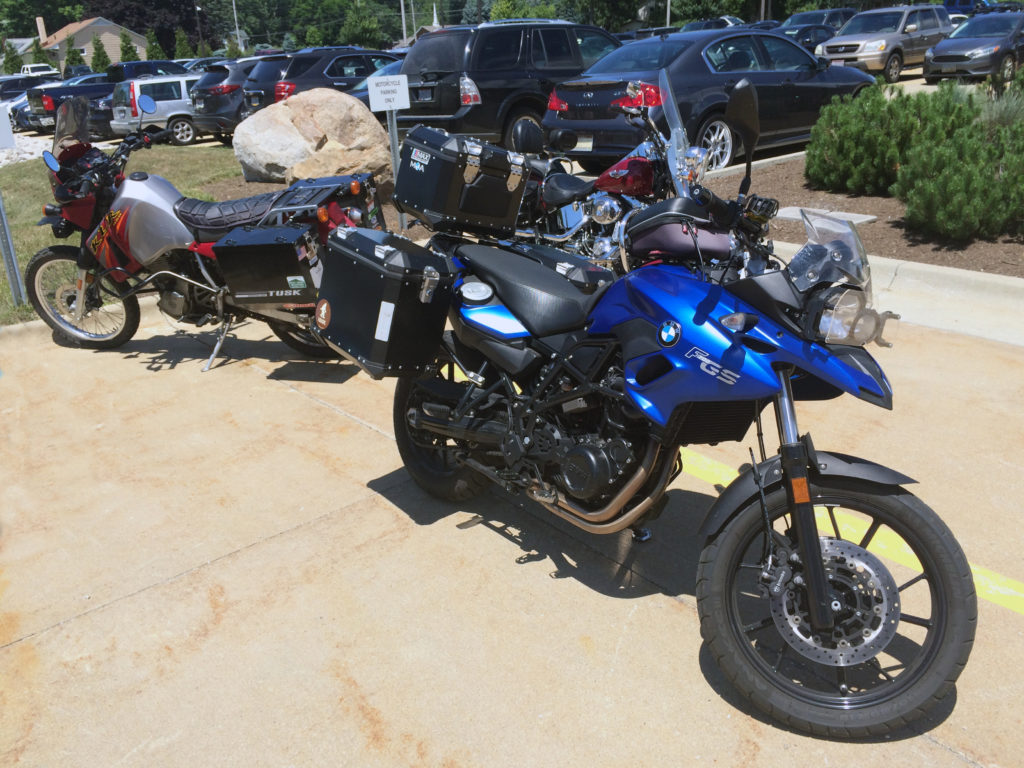BMW-and-KLR-Motorcycles