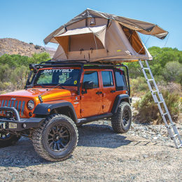"Though the hobbies can overlap, overlanding goes far beyond the simple premise of ""car camping."" (Image/Summit Racing - Smittybilt)"