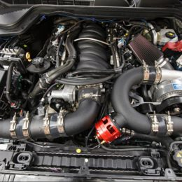 L77 supercharged engine