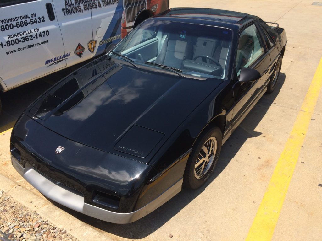 1985-Pontiac-Fiero-Lot-Shot-Front-Driver