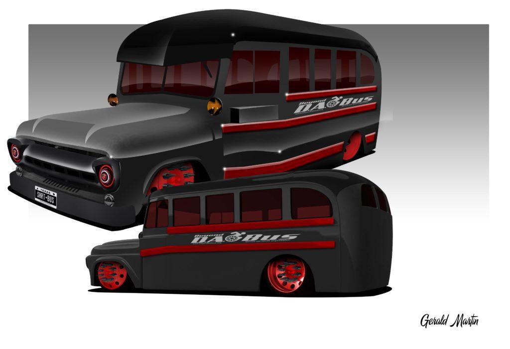 DA Bus Rendering