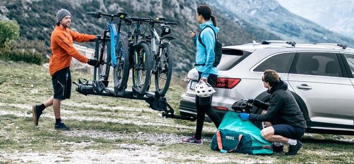 Thule-Bike-Rack-and-Bikes