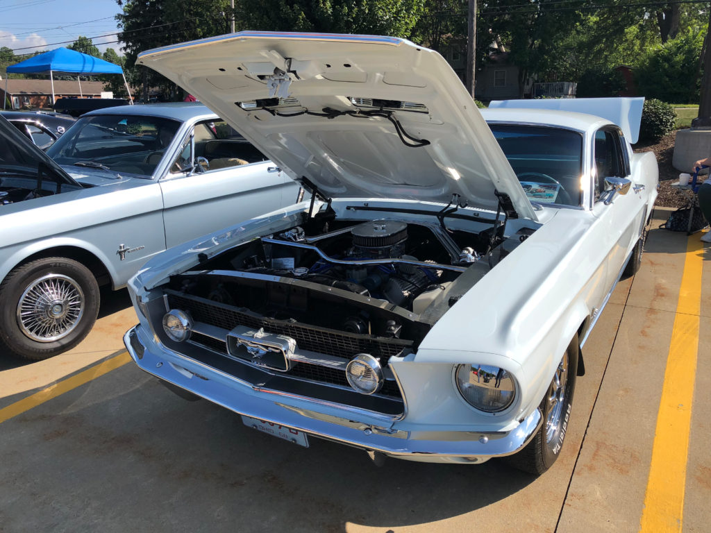 White-First-Gen-Ford-Mustang