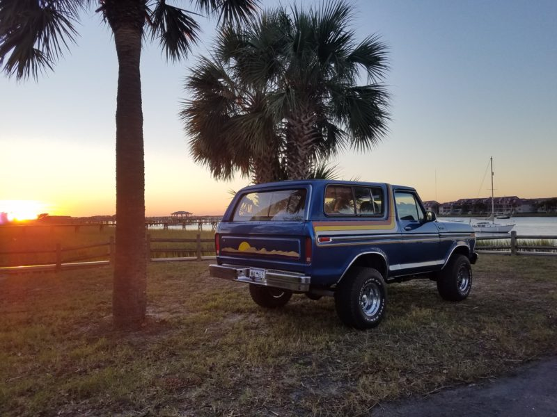 1978 Ford Bronco - Courtney Barnes