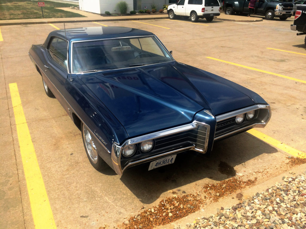 1969-Pontiac-Laurentian-Blue-Front-Grille