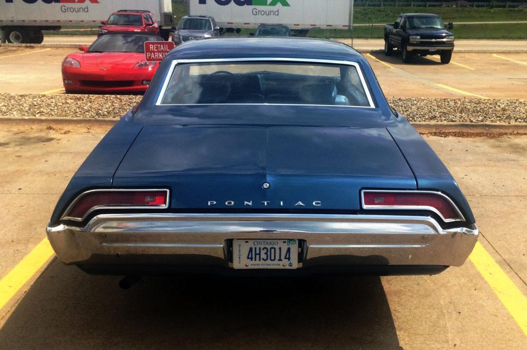 1969-Pontiac-Laurentian-Blue-Rear-End