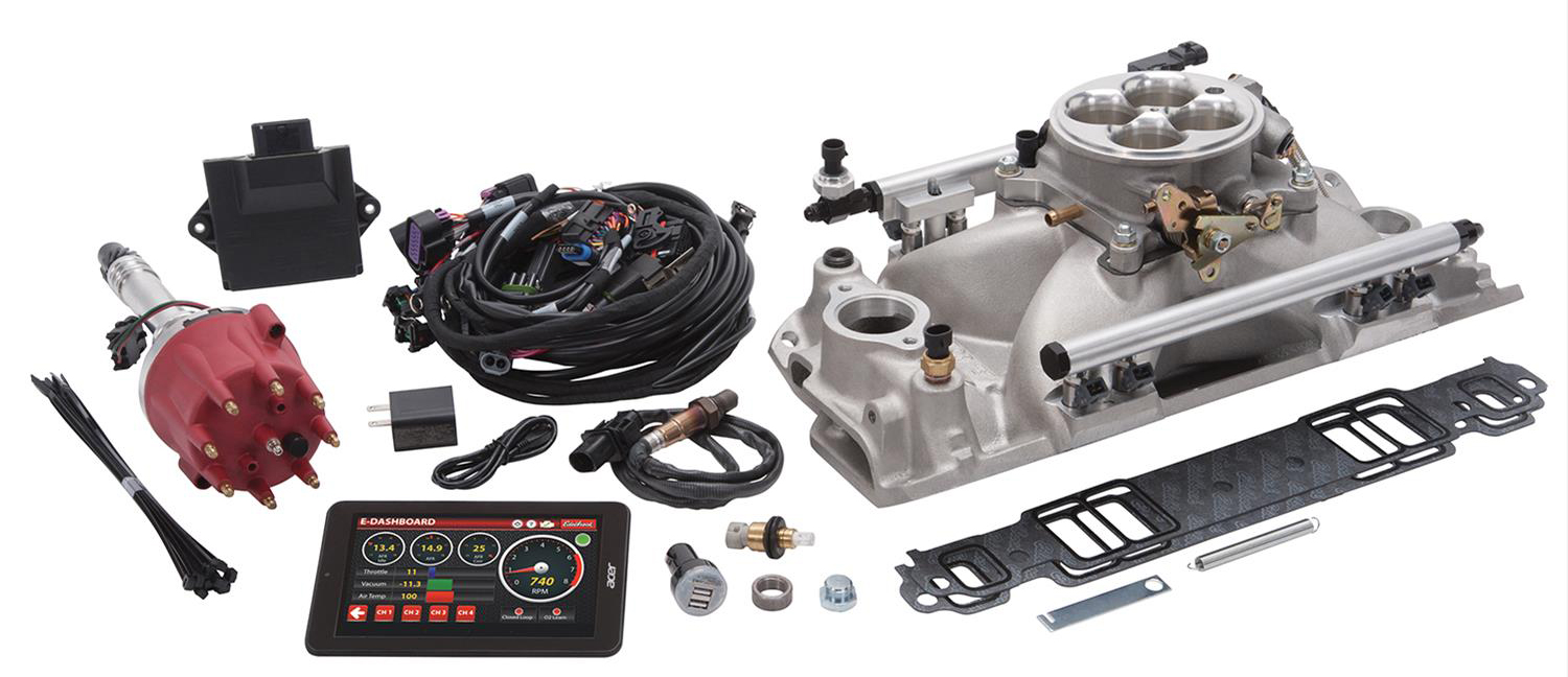 Parts Bin: Edelbrock Pro-Flo 4 Electronic Fuel Injection Systems -  OnAllCylinders