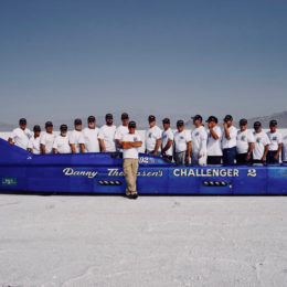 The Challenger 2 Team (Image/Twitter - Danny Thompson)