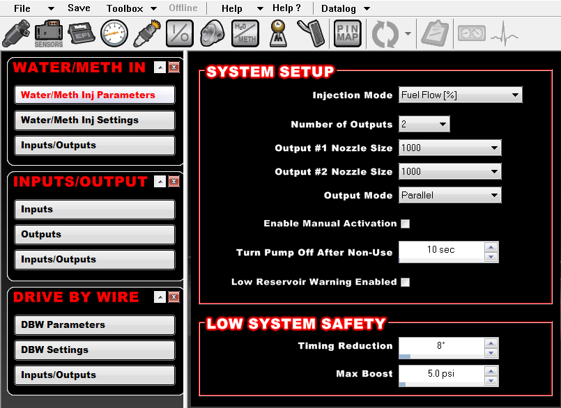 Holley-Dominator-19-on-screen-settings
