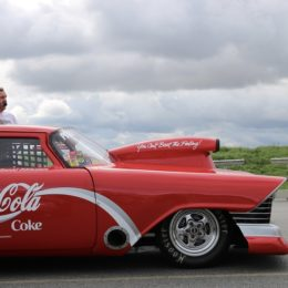 American flavor is prevalent in the series, including this bold Coca-Cola paint scheme. (Image/Kelly Topolinski)