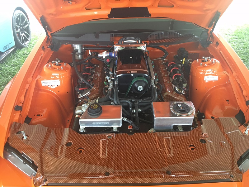 supercharged shelby mustang