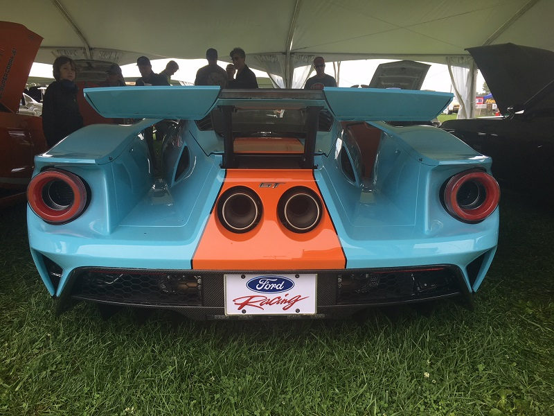 Ford GT taillights