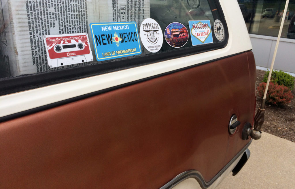 Plymouth-Trail-Duster-Vintage-Bumper-Stickers