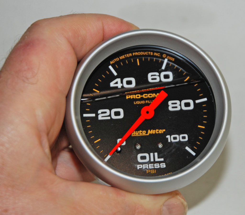 Gauge-4-Auto-Meter-Pro-Comp-Oil-Pressure-Liquid-Filled