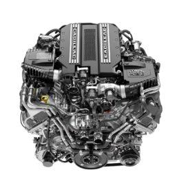 CT6 V-Sport engine - Cadillac