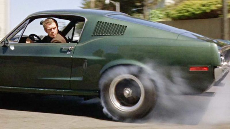 Bullitt - Steve McQueen - best movie chase scene - image by BBC America