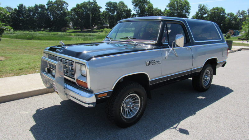 1983 dodge ramcharger - mecum