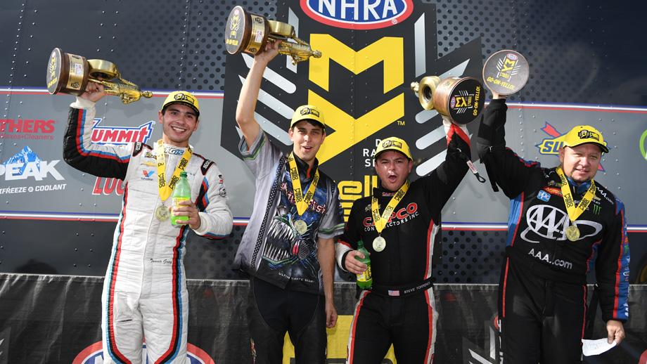 Texas winners countdown to the championship NHRA Fall Nationals