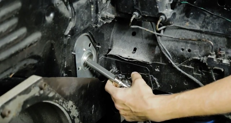 EPAS steering column install