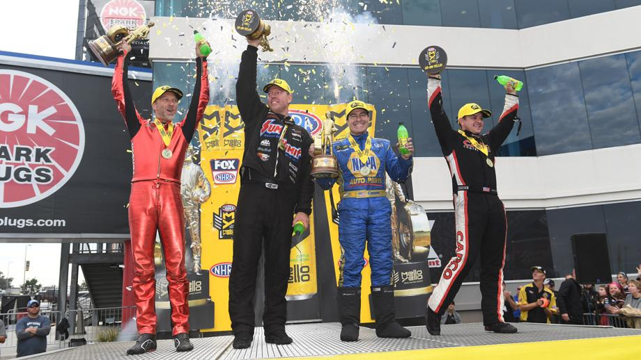 nhra zmax winners circle october 2018