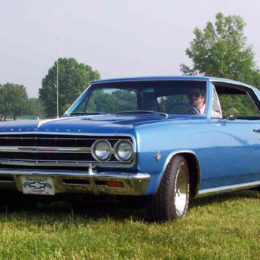 Rodney Waters and his 1965 Chevy Malibu SS are members of the Peach State Chevelles. (Image/Peach State Chevelles)