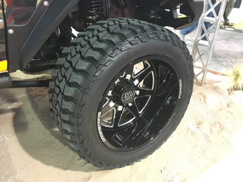 Sema Show Las Vegas >> Mickey Thompson's Baja Boss Tire is Your New Overlord