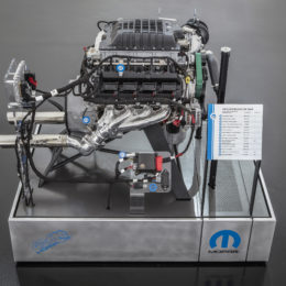 "The ""Hellephant"" 426 Supercharged Mopar Crate HEMI® Engine is a Mopar-first for a 1,000 horsepower crate engine kit offered by an Original Equipment Manufacturer (OEM)."