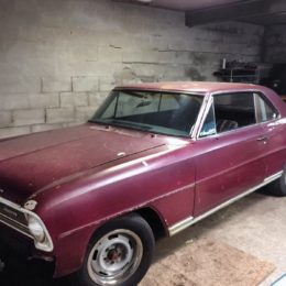 1966 Chevy II SS restoration