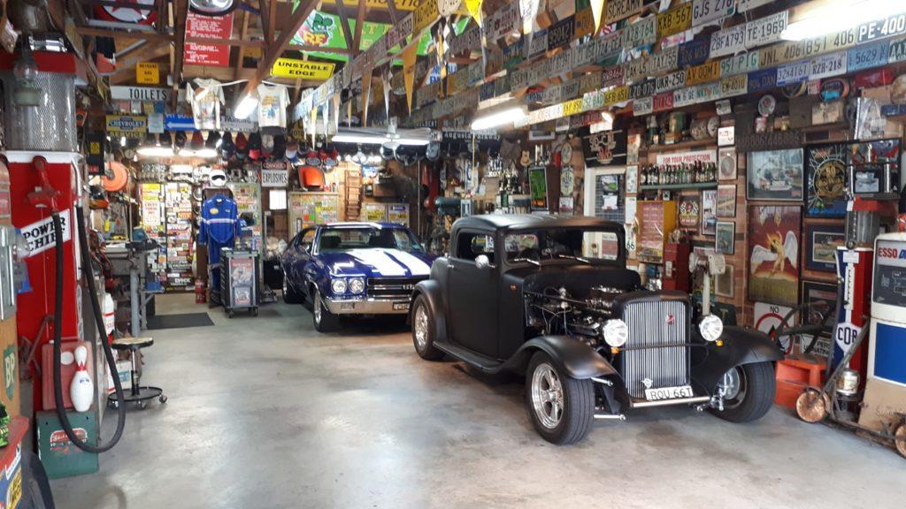Gil S's garage