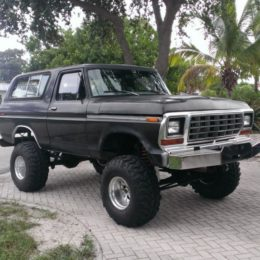 78 ford bronco mud truck