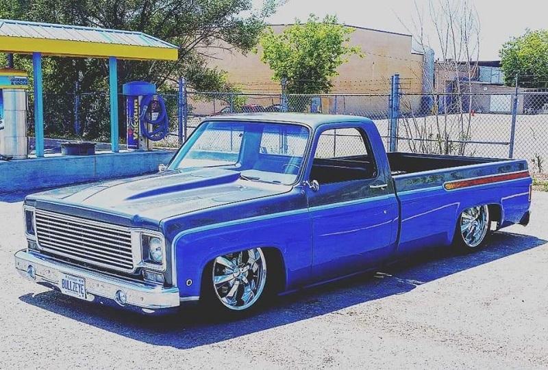 Billy B's Sierra truck