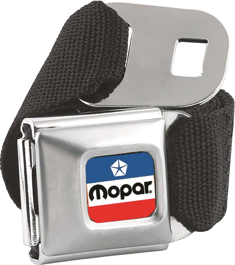 1972 Mopar Logo Seatbelt Belt