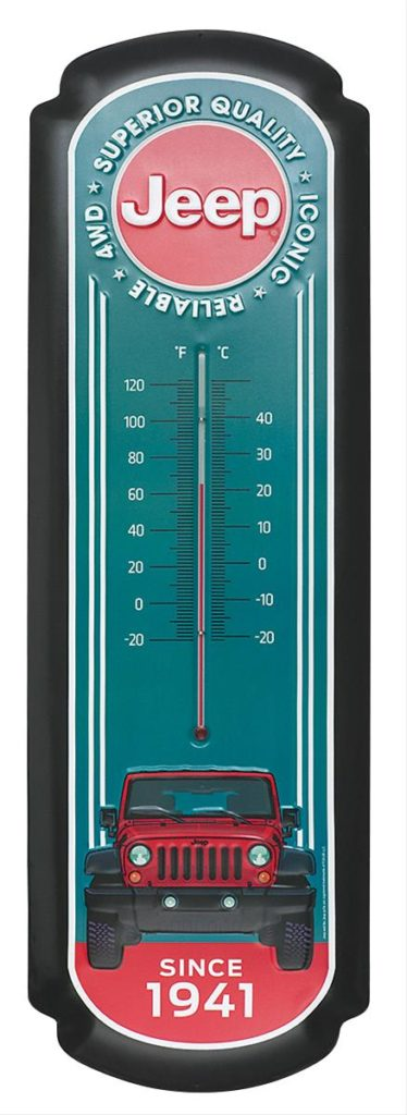 Jeep Oversized Thermometer
